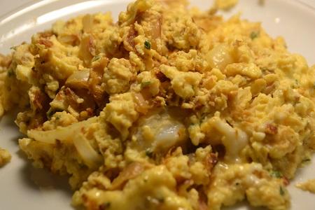 Oeufs brouillés champignons cookeo