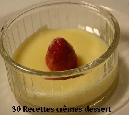 30 recettes cookeo crèmes dessert PDF gratuit