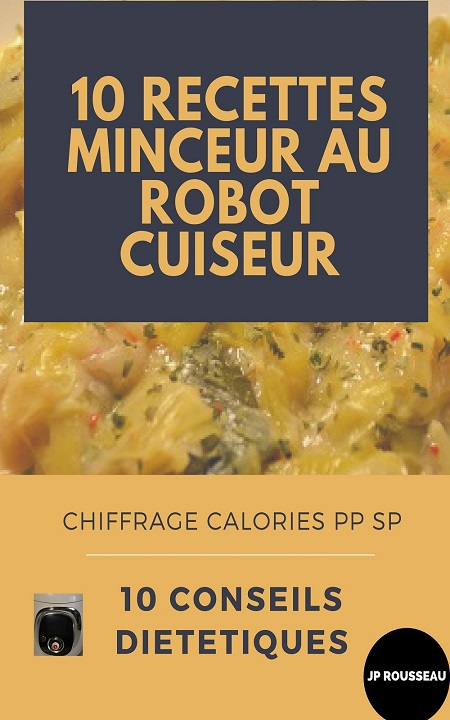 10 recettes minceur et astuces diététiques l'EBook au cookeo