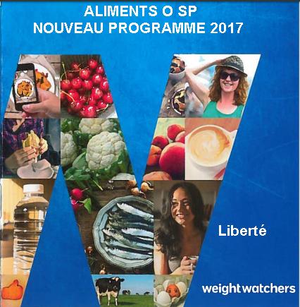 Liberté weight watchers PDF GRATUIT nouveau programme 2017