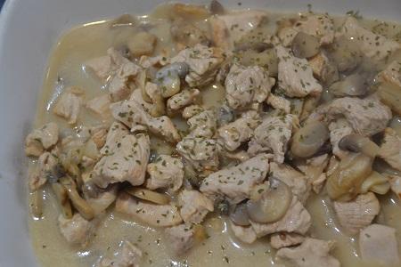 Escalopes dinde Stroganoff recette cookeo