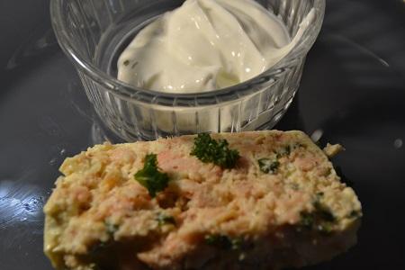 Terrine saumon recette cookeo