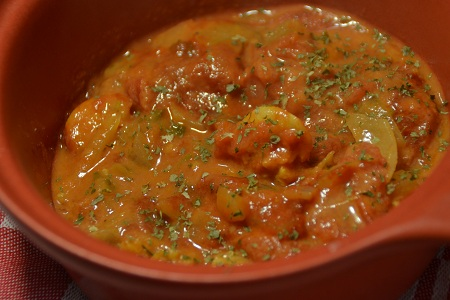 Crevettes curry coco recette cookeo