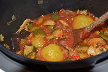 Ratatouille maison recette cookeo