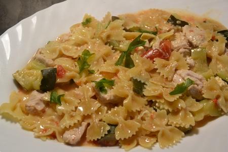 One pot pasta poulet tomates recette cookeo