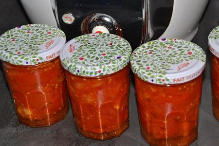 Stérilisation tomates cookeo