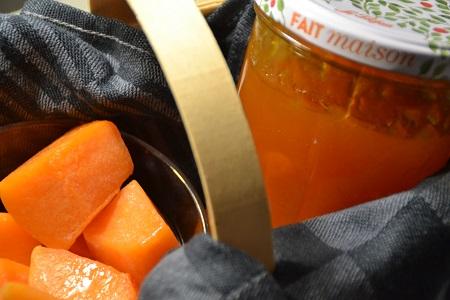 Confiture potiron orange recette cookeo