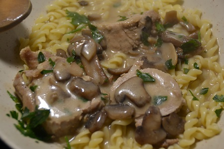 Filet mignon champignons recette cookeo