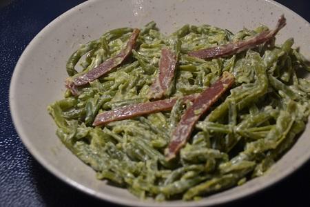 Haricots verts carbonara weight watchers cookeo