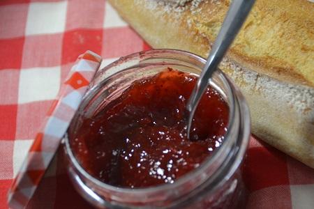Confiture fraises agar agar cookeo