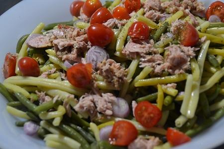 Salade 2 haricots thon tomates cookeo