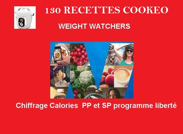 130 Recettes cookeo weight watchers