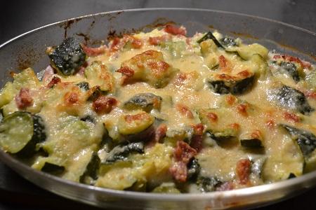 Gratin courgettes parmesan recette cookeo