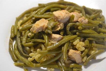 Poulet haricots verts recette cookeo