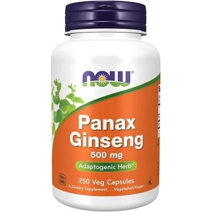 Panax Ginseng 500mg 250v-caps
