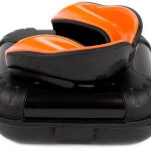 Makura gebitsbeschermer Ignis Pro junior siliconen zwart/oranje