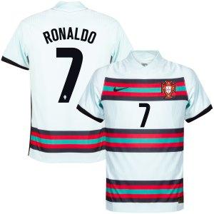 Portugal Vapor Match Shirt Uit 2020-2021 + Ronaldo 7 - XXL