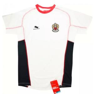 OGC Nice Trainingsshirt Senior 2014-2015 - Maat M - Kleur: Wit   Soccerfanshop