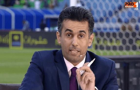 الحماد: دون مجاملة.. نقل القناة الرياضية السعودية سيئ