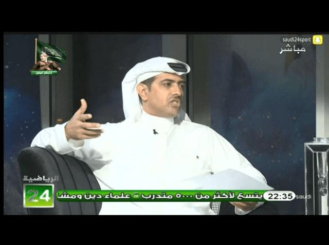 بالفيديو..فهد الهريفي: رسالتي لإدارة نادي النصر ان الوضع اختلف عن مما كان عليه اولاً