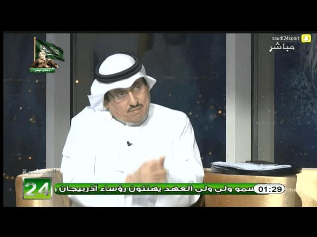 بالفيديو..محمد الدويش:النصر في تاريخة كله في فترات نجاحه كان النجاح بسبب مدرب