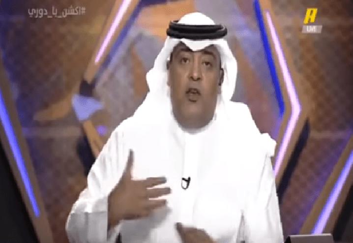 بالفيديو..الفراج: إذا كنت ترى أن لاعبي النصر متخاذلين لأسباب مالية فهل تثق وتتشرف بهم