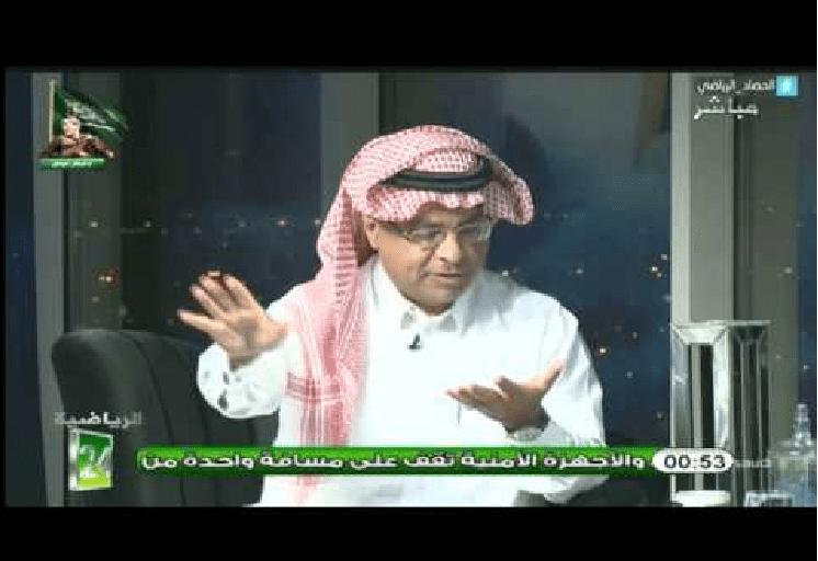 بالفيديو..سعود الصرامي: المتسبب فيما حدث هو بيان نادي النصر