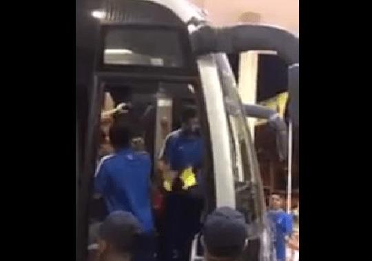 بالفيديو .. نجل دياز يمزق قميص بوكا جونيور