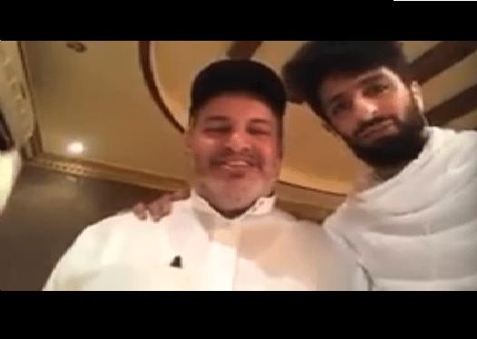 """بالفيديو.. الأنصاري في ضيافة عضو الشرف """" أبو مشعل"""""""