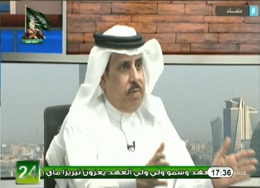 """بالفيديو.. أحمد الشمراني: اعتذر للأستاذ """"عبدالله البرقان"""" و اطلب منه ان يسامحني"""