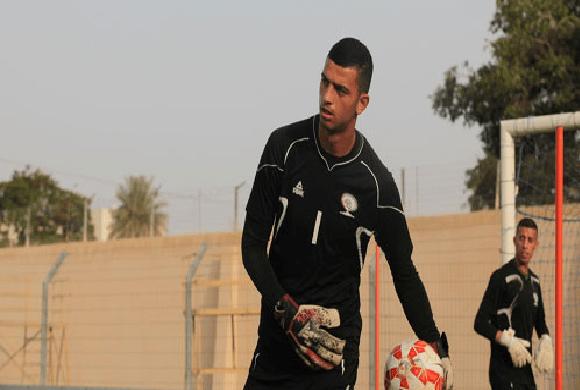 حارس فلسطين مطلوب في الدوري السعودي