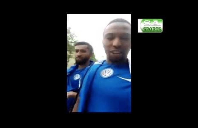 بالفيديو..عمر الخريبين يطلق على كادش اسم أخر..والأخير يرد