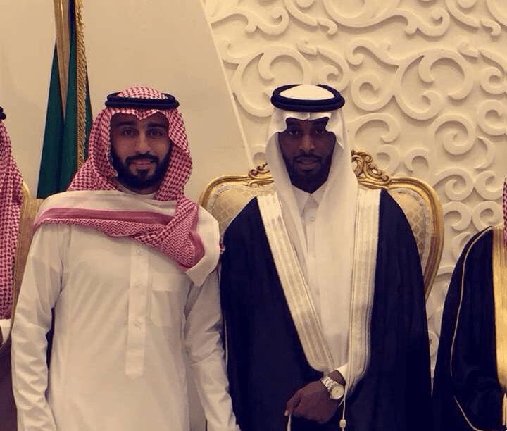 بالصور.. لاعب الاتحاد يدخل القفص الذهبي وحضور نجوم النصر