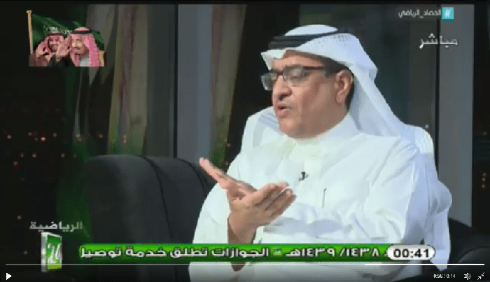"""بالفيديو ..سليمان الجعيلان: """"ماتياس"""" اثبت انه لاعب لا يليق بنادي الهلال"""