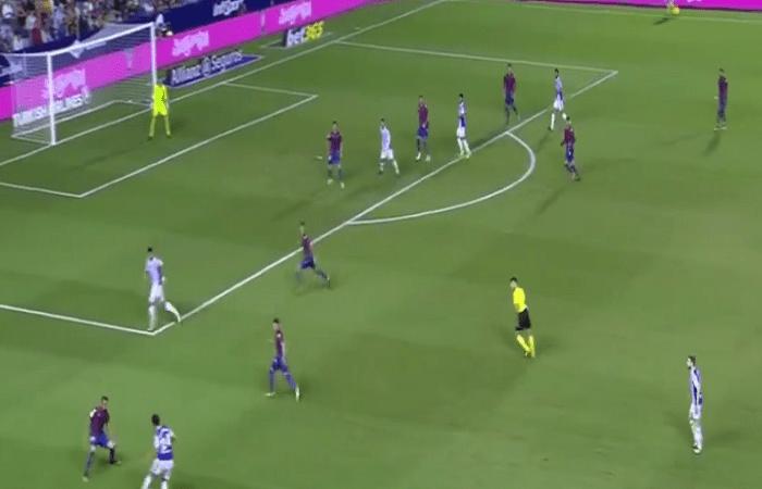 فيديو ..أهداف مباراة ليفانتي (3-0) ريال سوسييداد في الدوري الإسباني