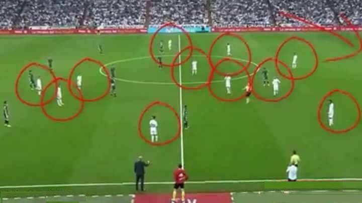 بالفيديو: مفاجئة غير متوقعة .. ريال مدريد شارك بـ12 لاعبا أمام بيتيس