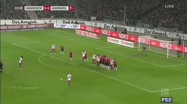 بالفيديو..شاهد ملخص مباراة هانوفر (2-0) هامبورغ في الدوري الألماني