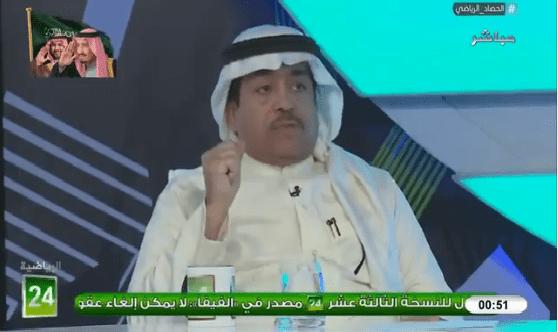 بالفيديو.. فهد الطخيم : تغير المدرب اسهل من تغير لاعب