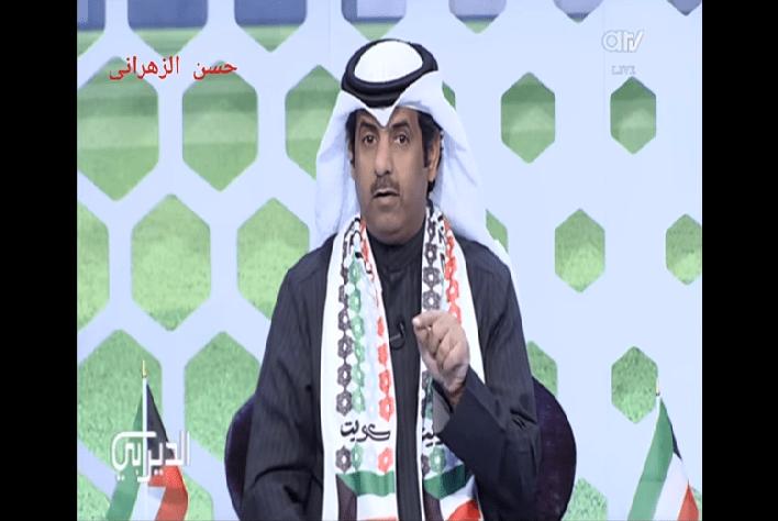 بالفيديو.. إعلامي كويتي يهاجم وليد الفراج..لا تولعها بين السعودية والكويت!