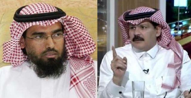 """دباس الدوسري يجلد صالح الطريقي:بداخله طفل """"أبله"""" مصاب بمتلازمة الفشل!"""