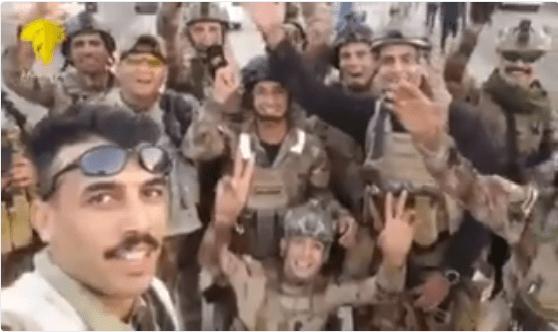 بالفيديو.. جنود عراقيون يرحبون بالمنتخب السعودي على طريقتهم