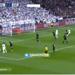 بالفيديو.. رونالدو يضيف الهدف الثاني لريال مدريد في شباك باريس سان جيرمان