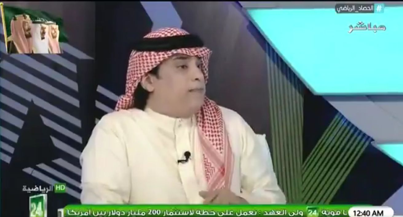 بالفيديو: خالد الشعلان يرد على طلب الذايدي بشأن عقوبة الفرج!