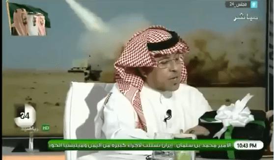 """بالفيديو.. مساعد العمري : أقدم هذه الهدية لـ """"عبدالعزيز المريسل"""" الذي تحدى بأنه سيحلق """"شنبه"""" إذا حقق الأهلي بطولة الدوري!"""