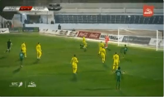 بالفيديو.. المنتخب السعودي يهدر فرصة هدف محقق