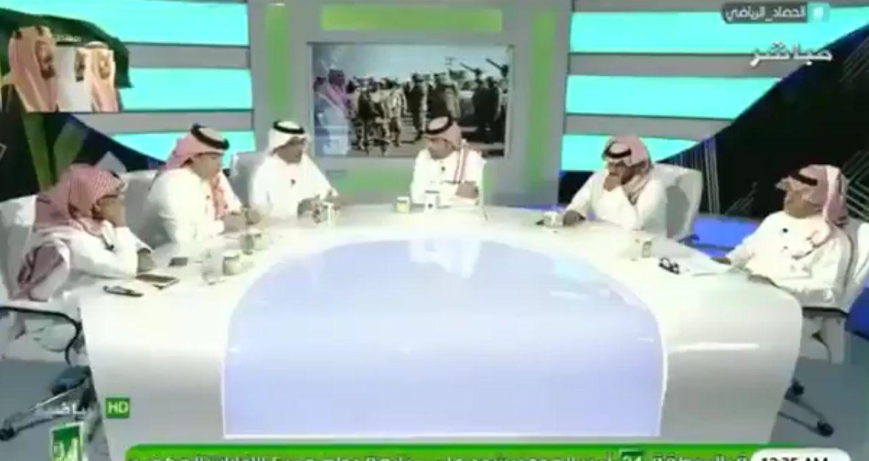 """بالفيديو..الجعيلان يوجه نصيحة """"مثيرة"""" لرئيس الأهلي..ورد مفاجئ من العمري: انصح سامي الجابر أولاً!"""