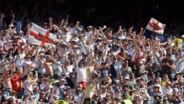 The Barmy Army are renowned for supporting England on overseas tours all over the world