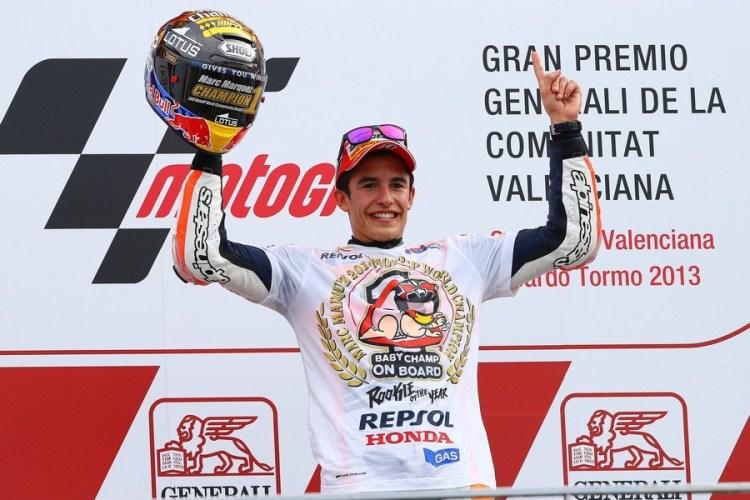 Risultato immagini per marc marquez 2013 motogp world champion