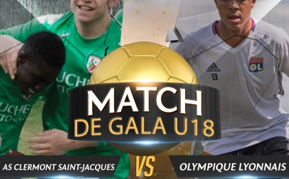 Match de gala pour les U18 de l'As Clermont Saint-Jacques