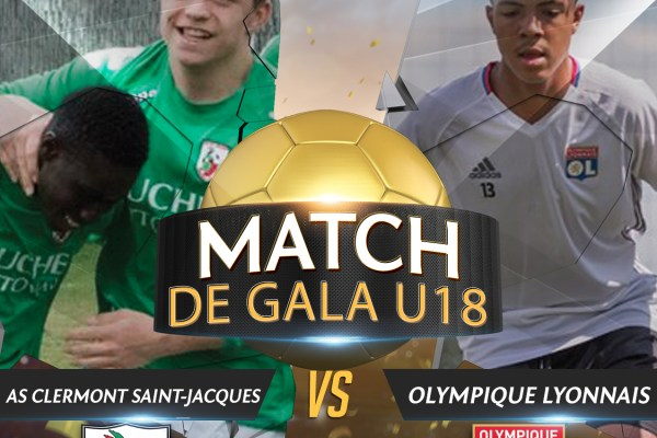Match de gala pour les U18 de l'As Clermont Saint-Jacques